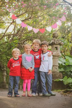 Valentine's Day | Siblings | Children's Photography | Shannon Hager Photography I love the simplicity of this photo.