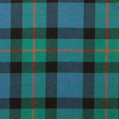 Gunn Ancient Lightweight Tartan by the meter – Tartan Shop
