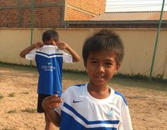 THANK YOU to IFA Sport Dubai, for their amazing donation of brand new football jerseys for our kids at Feeding Dreams Cambodia.  Our wonderful charity rider Melanie Shellien brought the donated kits over from the UAE. Our kids were then able to represent IFA during their game verses the riders…