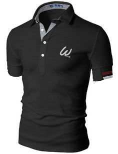Doublju Mens Polo Short Sleeve T-shirt in 2 Style for only $20.00 You save