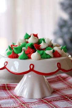 cream cheese mints these easy to make 4 ingredient cream cheese mints recipe makes the perfect addition to your christmas dessert table - Easy Christmas Desserts Pinterest