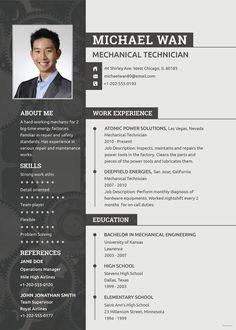 simple-mechanical-engineer-resume-template