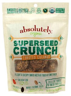 AFTER TWO YEARS OF R & D,  NJ-BASED ABSOLUTELY GLUTEN-FREE TO BRING NEW GLUTEN-FREE ORGANIC SUPERSEED CRUNCH TO MARKET