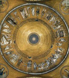 Basilique St-Marc - Venise - Coupole d'Abraham - milieu XIIIème siècle