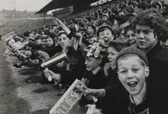 Young fans at Birmingham City vs Aston Villa football match, 1962, Terry Fincher © Daily Herald / National Media Museum, Bradford / SSPL