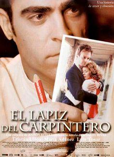 """2004- Mejor Actor:  Luis Tosar, por """"El lápiz del carpintero""""                                       #FilmFest #MDQ #MardelPlata #Cine"""