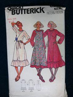 sewing pattern Butterick Quick pattern 6294 dress by LadyNapsAlot, $6.00