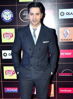 Varun Dhawan at the Star Guild Awards 2015. #Bollywood #Fashion #Style #Handsome