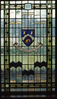 Stourbridge Arms, Council House, Mary Stevens Park Stourbridge Window made by Bill Pardoe