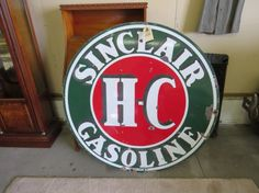 Love vintage signs? Bid for this double sided Sinclair gasoline ad online with Proxibid and VanDerBrink Auctions! The event will close June 28.