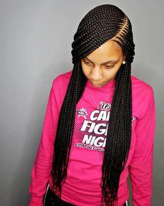 Box Braids Hairstyles, Frontal Hairstyles, Braids Wig, African Hairstyles, Hairstyles 2018, Med Box Braids, Corn Braids, Lemonade Braids Hairstyles, African American Braided Hairstyles