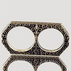 Two Finger Filigree Ring now featured on Fab.
