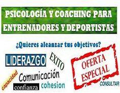 Psicología y coaching para deportistas y entrenadores http://formacionfutbolenpositivo.blogspot.com.es/2013/04/el-coaching-y-la-psicologia-deportiva.html