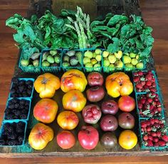 A beautiful farmers market haul. Photo via Robby Barbaro of Mastering Diabetes and Mindful Diabetic
