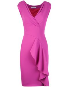 Versace Fuchsia Dress Orchidea
