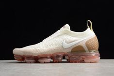 f4a54a394a928 Buy Women Men New Release Nike Air VaporMax Moc 2  Sail Anthracite Sand Wheat Green from Reliable Women Men New Release Nike  Air VaporMax Moc 2 ...