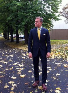 Another great-fitting suit from The Nordic Fit.