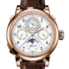 The World's Most Expensive Watches: 8 Timepieces Over $1 Million #RightNow on ⌚#WatchTime.com⌚ #alangesohne #hautehorology #watchfam #watchcommunity #millionaire #billionaire #luxury #luxurytimepieces #splitsecond #minuterepeater #monopusher #chronograph #perpetualcalendar #grandsonnerie