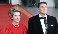 """(A) """"close family member,"""" and confirmed by a spokeswoman. The Reagan Library said in a statement that the cause of death was """"congestive heart failure."""""""