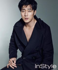 "Actor so ji sub posed for the fashion magazine ""instyle men"" and like always, he looks stunning. Description from ohkpop.com. I searched for this on bing.com/images"