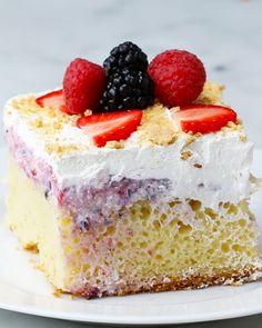Easy Poke Cakes 4 Ways