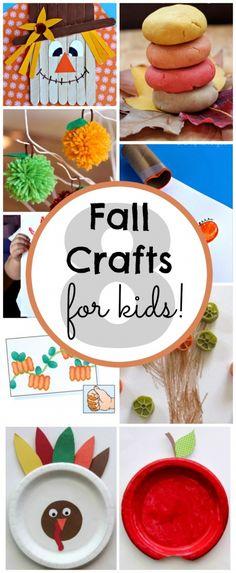 Fall Crafts for Kids | pumpkin spice playdough