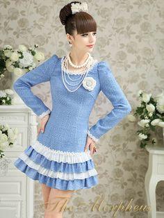 Morpheus Boutique - Baby Blue Ruffle Roud Neck Shoulder Layer Hemline Banded Dress, $159.99 (http://www.morpheusboutique.com/products/baby-blue-ruffle-roud-neck-shoulder-layer-hemline-banded-dress.html)