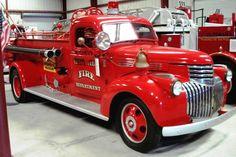 1941 Chevy-Pirsch pumper, Largo, Florida....