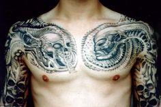Giger Inspired Tattoos