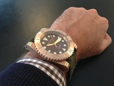 bronze Helson watch