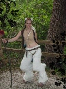 How to Make a Pair of Faun or Satyr Legs and Hooves Video Tutorial - yourfantasycostume.com