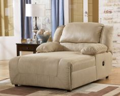 MM Furniture Hogan Khaki Pressback Chaise - Chaises - Living Room Furniture - Living Room - Furniture