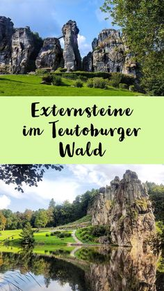 Excursion destinations in the Teutoburg forest - The Externsteine are in addition to the Hermann monument is the most popular day-trip destination ( - Budget Travel, Travel Tips, Travel Hacks, Philippines, Arizona, Road Trip, Tokyo, Voyage Europe, Destination Voyage
