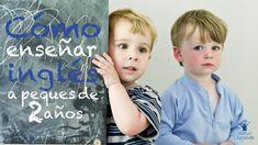 Cómo enseñar inglés a peques de 2 años