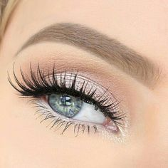 Natural lashes, with a little extra length.