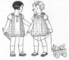 Vintage smocked dresses--so sweet! Vintage Sewing Patterns, Embroidery Patterns, Hand Embroidery, Girl Dress Patterns, Doll Patterns, Skirt Patterns, Blouse Patterns, Vintage Kids Fashion, Vintage Children