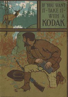 Vintage Kodak Catalog Cover