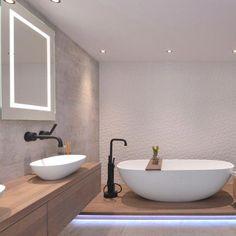 23 ideas for bathroom spa tiles layout Bathroom Sink Decor, New Bathroom Ideas, Beige Bathroom, Modern Master Bathroom, Bathroom Spa, Bathroom Colors, Bathroom Interior Design, Bathroom Inspiration, Small Bathroom