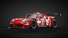Alfa Romeo 4c, Alfa Romeo Cars, Maserati, Ferrari, Alfa Alfa, Martini Racing, Cars And Motorcycles, Cool Cars, Race Cars