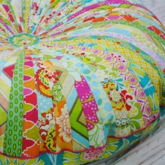 Free pattern lovely pouf