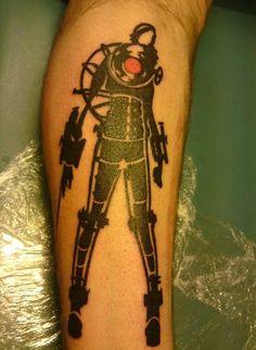 Bioshock tattoo on pinterest for Bioshock wrist tattoo