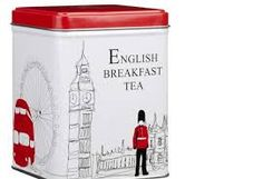 Tea Harrods is an experience everyone should have once. Even if the only souvenir you can afford is a silly little tin of tea. Tea Labels, English Breakfast Tea, Tea Tins, Cuppa Tea, Tea Box, Tea Caddy, Christmas Tea, Tin Boxes, My Tea