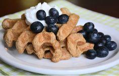 Flax Waffles (grain free, low carb, paleo, keto)