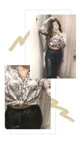 Story réalisée avec Canva Application Indispensable, Leather Skirt, Leather Jacket, Skirts, Tips, Blog, Fashion, Software, White Balance