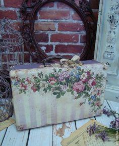 """Чемодан """"Секрет старого чемодана"""" - ретро,винтаж,чемодан,подарок,мастерская"""