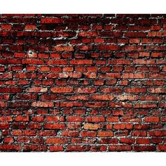Old_Red_Brick_Wall_Background.jpg (960×800) ❤ liked on Polyvore