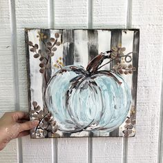 Fall Canvas Painting, Autumn Painting, Autumn Art, Diy Painting, Fall Paintings, Canvas Paintings, Mini Canvas Art, Diy Canvas, Pumpkin Art