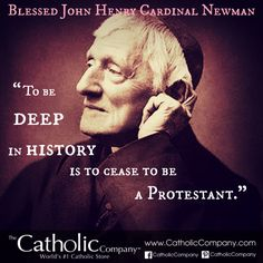 Bl. John Henry Newman was an Anglican priest & theologian who, through study & reason, became persuaded to the truth of the Catholic faith. He converted & was made a Cardinal, and beatified in 2010. His autobiography, Apologia Pro Vita Sua, is a classic defense of his religious beliefs which were attacked by his contemporaries. Many conversions to the Catholic Church followed from his witness. He helped modern people realize the demands of thinking & acting with the mind of Christ & His…