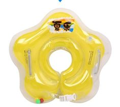 Free Shipping swimming baby accessories swim neck ring baby Tube Ring Safety infant neck float circle for bathing Inflatable