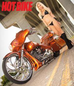 Hot Bike Photo Gallery of Model Galina from November 2014 issue. Motorbike Girl, Motorcycle Bike, Women Motorcycle, Lady Biker, Biker Girl, Motard Sexy, Harley Bikes, Harley Race, Bike Photo